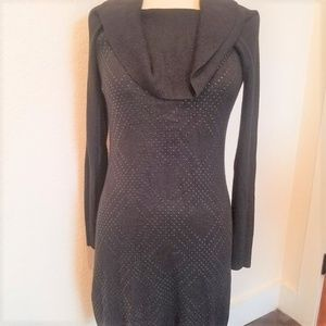 White House Black Market Cowl knit shift dress